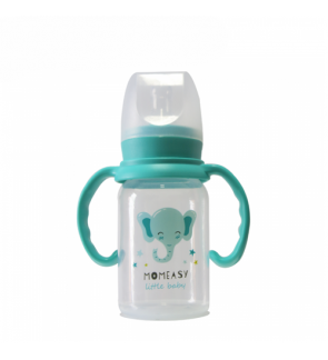MOMEASY 120ML STANDARD FEEDING BOTTLE WITH HANDLE TYPE A